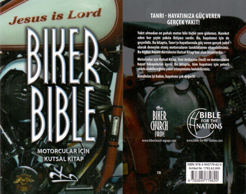 Biker Bibel Türkisch