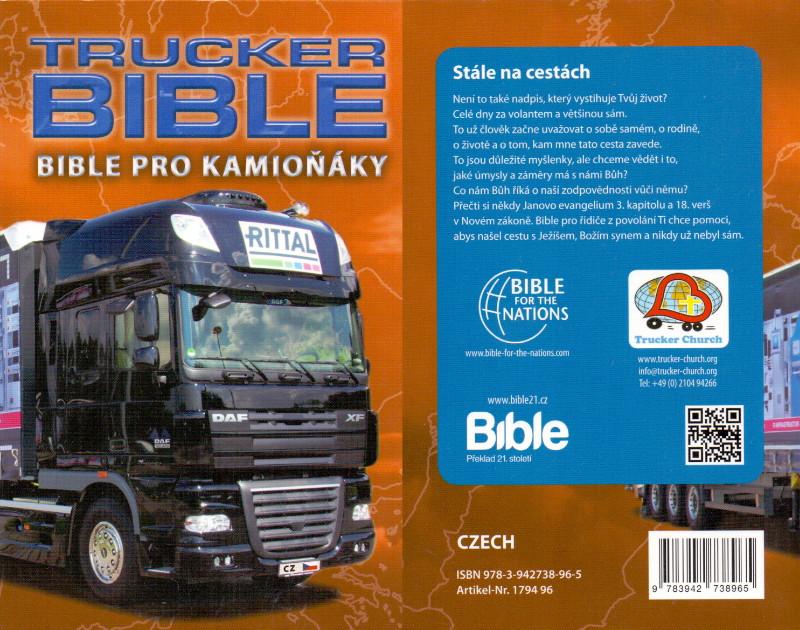 Trucker Bibel Tschechisch