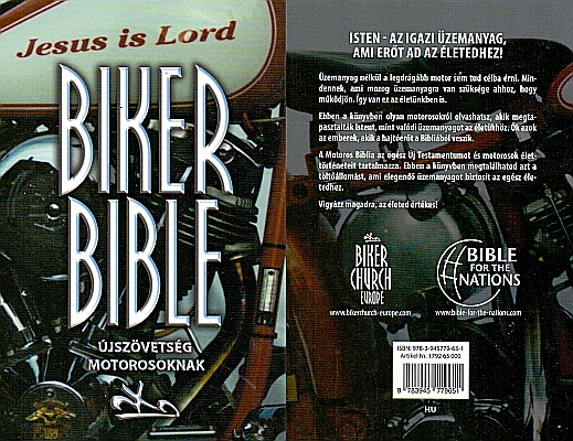 Biker Bibel / Neues Testament in Russisch