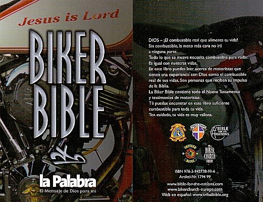 Biker Bibel in Spanisch
