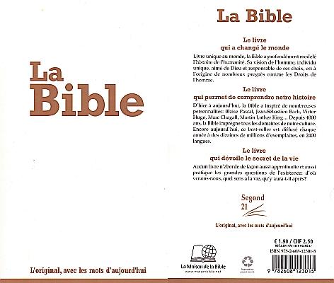 Bibel NT / AT in Französisch