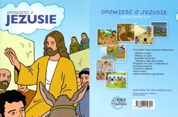 """""""DAS BUCH VON JESUS"""" Kinder Comic Bibel in Polnisch"""