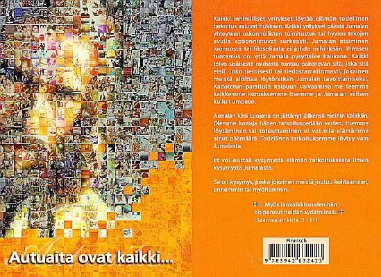 Glücklich sind…; (Evangelistisches Büchlein) in Finnisch
