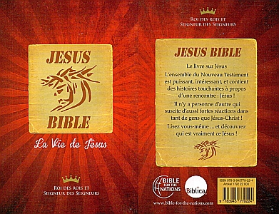 Jesus Bibel / NT in Französisch