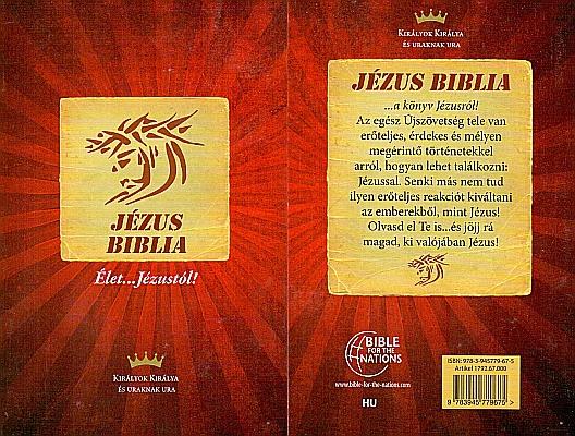 Jesus Bibel / NT in Ungarisch
