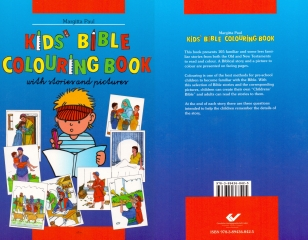 Kinder Mal Bibel in Englisch