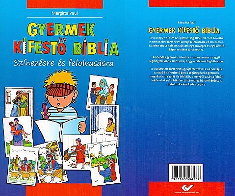 Kinder-Mal-Bibel in Ungarisch