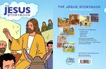 """""""DAS BUCH VON JESUS"""" Kinder Comic Bibel in Englisch"""