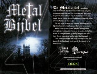 Metal Bibel in Niederländisch